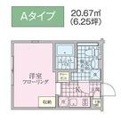 パークスクエア目黒不動前 / 201 部屋画像1