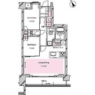 RISING SUN 恵比寿二丁目 BRANZ / 1SLDK(59.85㎡) 部屋画像1