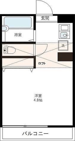 カーサ鷺山 / ワンルーム(17.08㎡) 部屋画像1
