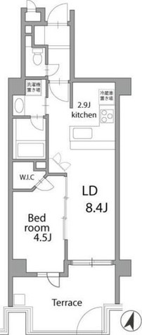 THEパームス代々木三丁目 / 104 部屋画像1
