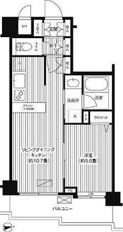 シャンドール目黒 / 1階 部屋画像1