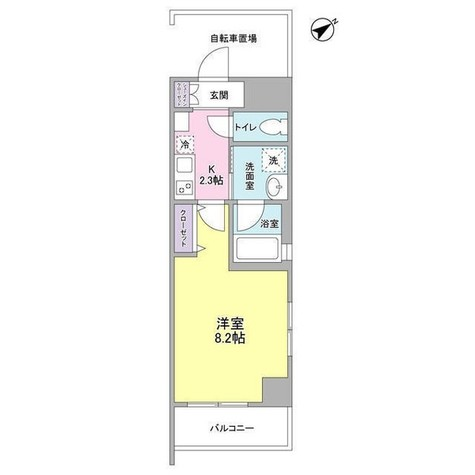 メゾンピオニ-都立大学 / 9階 部屋画像1
