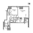 浜松町 3分マンション / 1LDK(56.36㎡) 部屋画像1