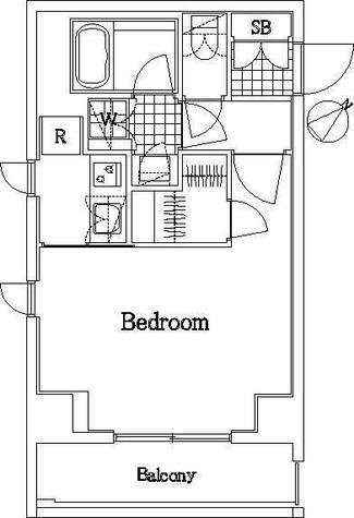 ザ・レジデンス・オブ・トーキョーKK06 / 3階 部屋画像1