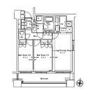 パークアクシス御茶ノ水ステージ / 2LDK(55.51㎡) 部屋画像1