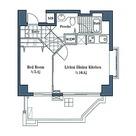 LANAI CLASSIC TOWER GARDEN VIEW(ラナイクラシックタワーガーデンビュー) / 1LDK(39.63㎡) 部屋画像1