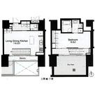 アパートメンツタワー麻布十番 / 1LDK(74.36㎡) 部屋画像1