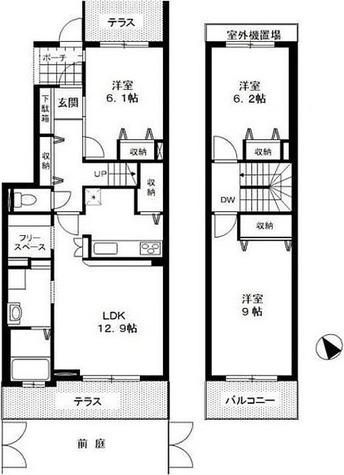 グラシアフィス北寺尾D棟 / 3LDK(85.20㎡) 部屋画像1