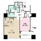 ザ・パークハウス白金二丁目タワー / 405 部屋画像1