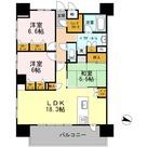 ロイヤルパークスERささしま / E-3LDK(84.71㎡) 部屋画像1