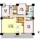 ロイヤルパークスERささしま / S-3LDK(128.86㎡) 部屋画像1