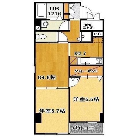 プラッサ西参道 / 1階 部屋画像1