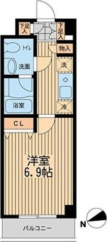 ライブコート大鳥居 / 1階 部屋画像1