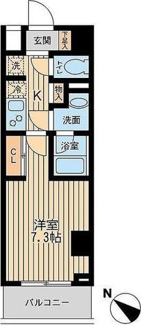 ユニフォート目黒中町 / 1階 部屋画像1