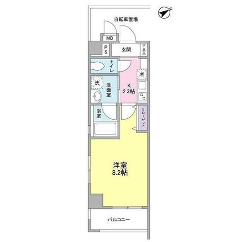 メゾンピオニ-都立大学 / 10階 部屋画像1