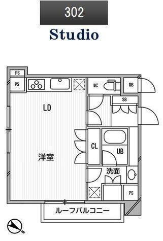 アパートメンツ目黒行人坂 / 302 部屋画像1