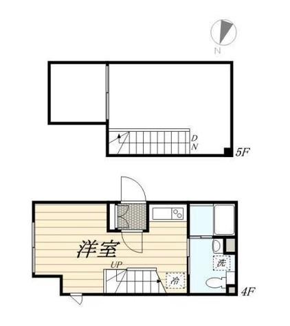 LAPiS新宿南 / 403 部屋画像1