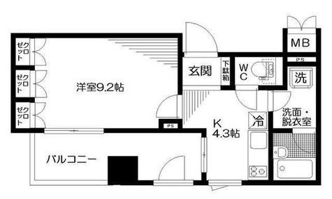 リビオ五反田プラグマ・Gタワー / 402 部屋画像1