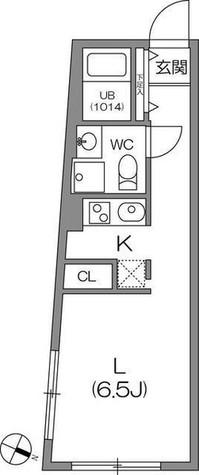 ZESTY駒澤大学Ⅱ(ゼスティ駒澤大学Ⅱ) / 401 部屋画像1