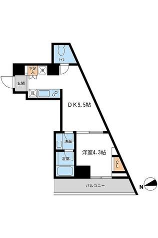 レジデンス雪谷大塚 / Gタイプ(32.55㎡) 部屋画像1