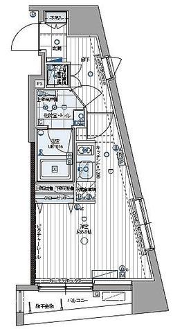パティーナ三田台 / ワンルーム(25.16㎡) 部屋画像1