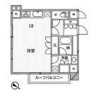 アパートメンツ目黒行人坂 / ワンルーム(34.97㎡) 部屋画像1