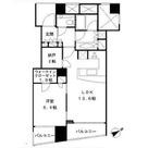 品川Vタワー タワー棟 / 13階 部屋画像1