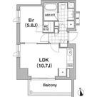 アパートメンツタワー六本木 / 1LDK(39.14㎡) 部屋画像1