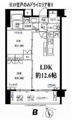フォレシティ富ヶ谷 / 504 部屋画像1