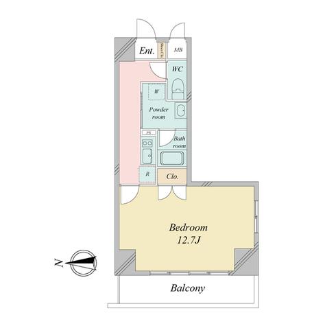 グランルージュ栄 / Gタイプ(36.76㎡) 部屋画像1