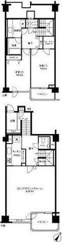 参宮橋マンション / 2LDK(138.77㎡) 部屋画像1