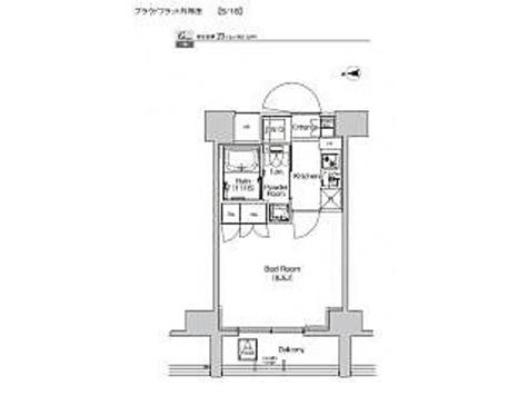 プラウドフラット外神田 / 1K(25.12㎡) 部屋画像1