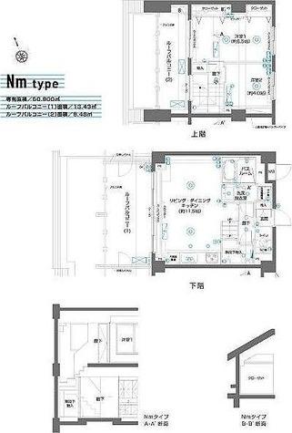 ZOOM駒込 / 2LDK(60.90㎡) 部屋画像1