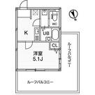 ガーラプレイス八幡山壱番館 / 1K(19.39㎡) 部屋画像1