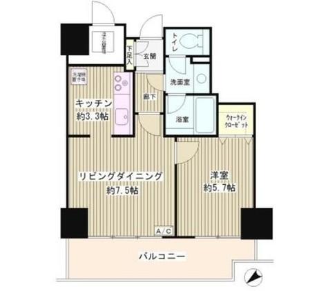 トレステージ目黒 / 506 部屋画像1