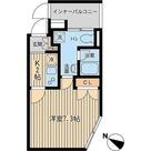 PARKSIDE SPEC Den-en chofu(パークサイドスペック田園調布) / 1K(21.39㎡) 部屋画像1