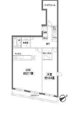 カスタリア西麻布霞町(旧ニューシティレジデンス西麻布) / 1LDK(107.17㎡) 部屋画像1