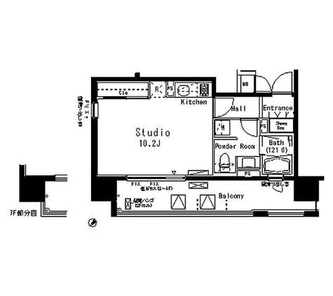 パークアクシス八丁堀 / 1R(32.02㎡) 部屋画像1