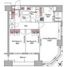 パークアクシス白金台 / 2LDK(67.61㎡) 部屋画像1