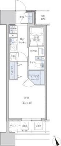 パークアクシス東別院 / 1K(28.58㎡) 部屋画像1