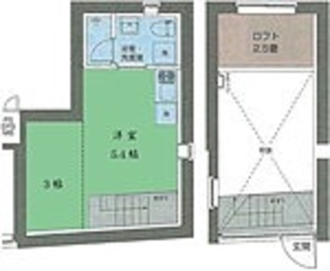 T-STYLE自由が丘(ティースタイル自由が丘) / ワンルーム(25.06㎡) 部屋画像1