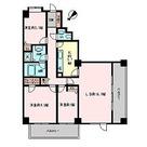 コロネード市ヶ谷 / 3LDK(85.4㎡) 部屋画像1