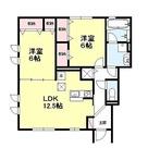 成城学園前 21分テラスハウス / C-2LDK(63.44㎡) 部屋画像1