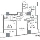 カスタリアタワー品川シーサイド / 2LDK(58.09㎡) 部屋画像1