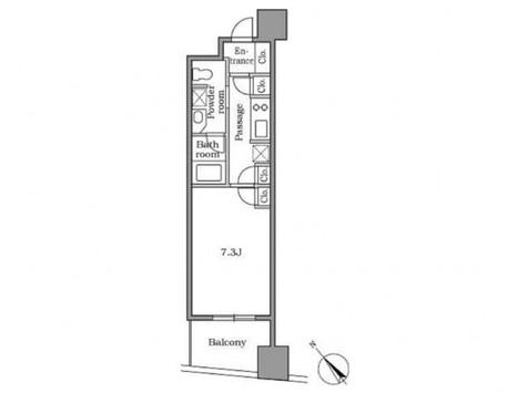 レジディア恵比寿Ⅱ / 603 部屋画像1