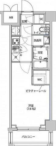 (仮)東京イーストサイドレジデンス / 1K(25.50㎡) 部屋画像1