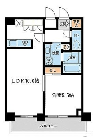 レジデンス雪谷大塚 / 1LDK(42.28㎡) 部屋画像1