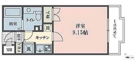 ウインベルデュエット恵比寿 / 1K(27.9㎡) 部屋画像1
