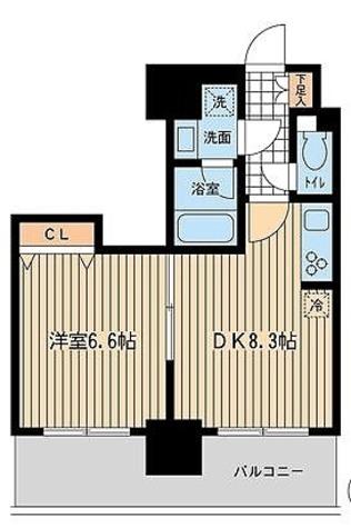 KDXレジデンス大山 / 2階 部屋画像1