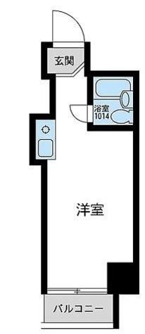 ウィンベル川崎第10 / ワンルーム(16.21㎡) 部屋画像1